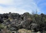 APN 201-35-007 Rock ledge on west border