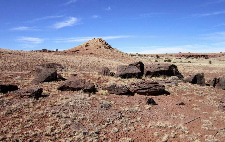 Boulders near peak