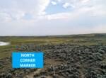 NORTH CORNER MARKER